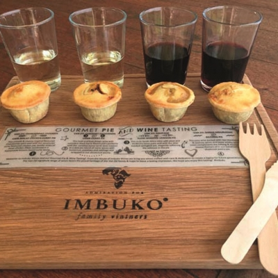Gourmet Pie & Wine Pairing at Imbuko Wines