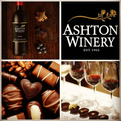 Belgian chocolate pairing at Ashton Winery