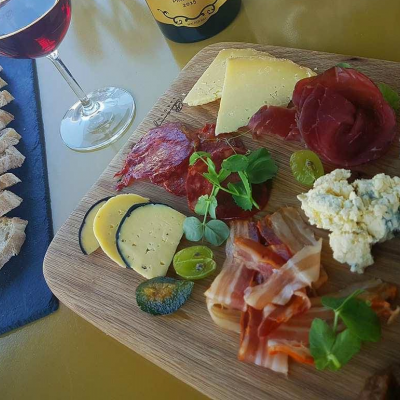 Cheese and Charcuterie Board for 2 people at Benguela Cove
