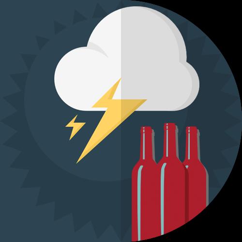Through Rain or Shine...Wine!