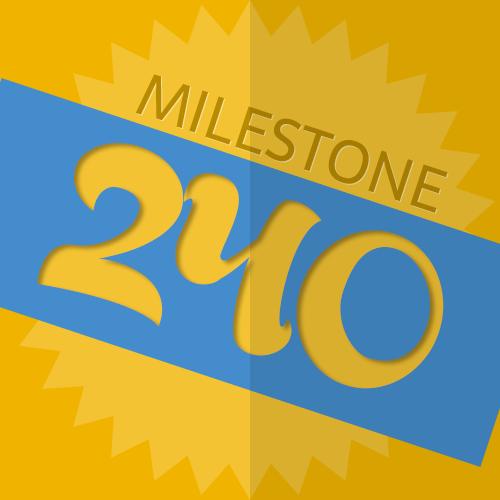 240 Checkins Milestone